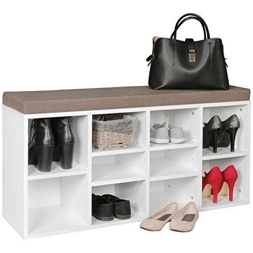 Stiefel Aufbewahrung garderobe mit sitzbank