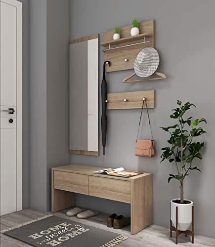 garderobe komplett set. Black Bedroom Furniture Sets. Home Design Ideas