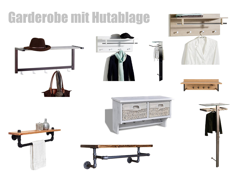 garderobe mit hutablage. Black Bedroom Furniture Sets. Home Design Ideas