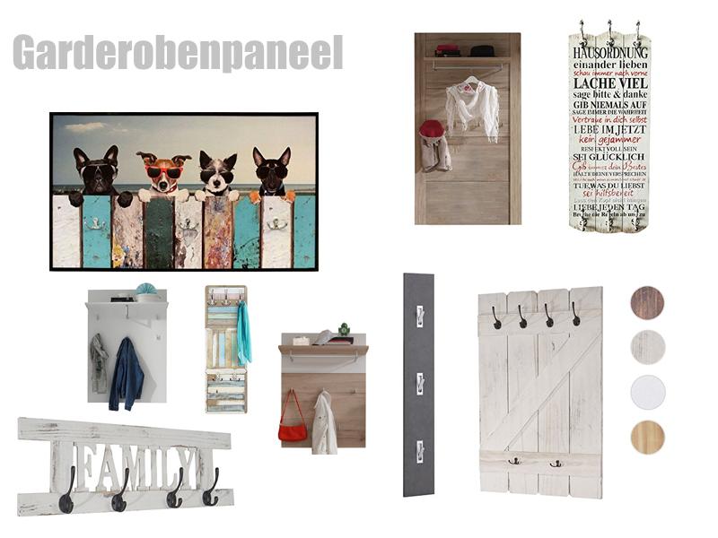 Garderobe Paneel